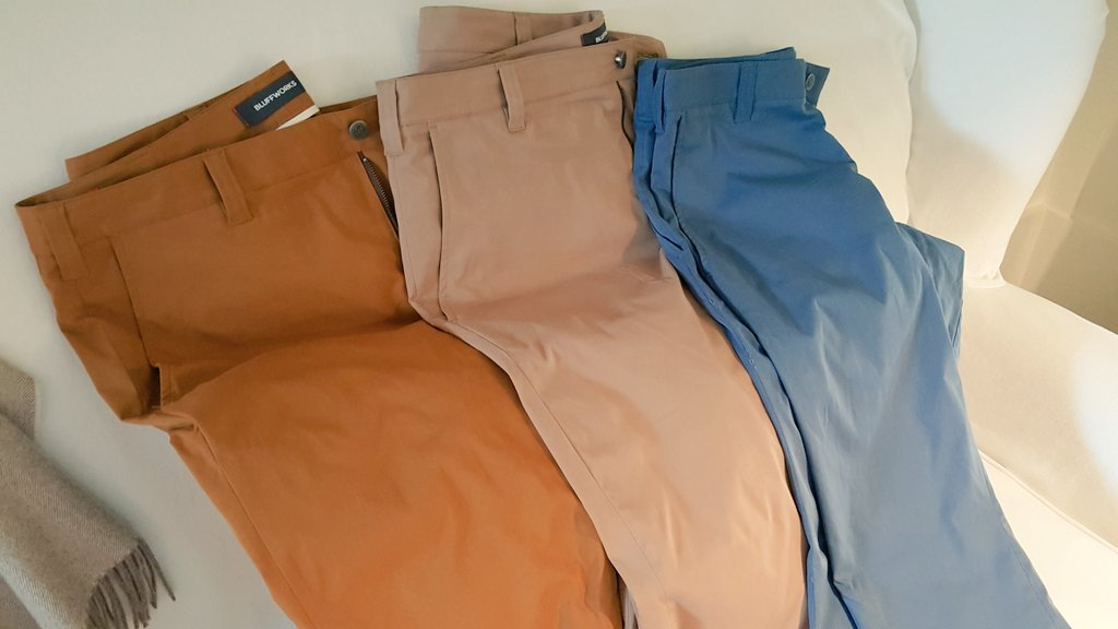 Bluffworks Pants Colors